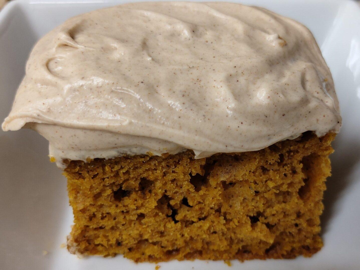 High Nooner Pumpkin Spice Cake